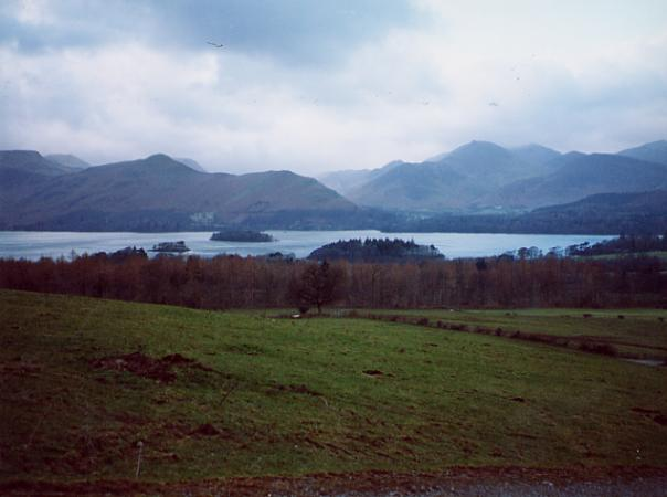 Catbells and Derwent Water from near Rakefoot