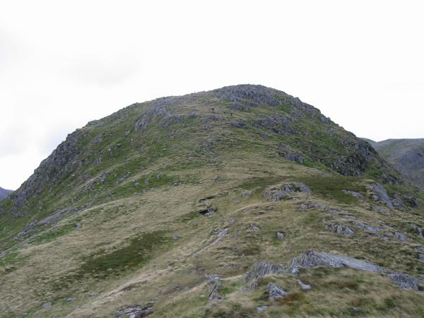 Base Brown, upper section of north ridge