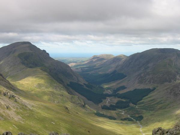 Ennerdale from Green Gable summit