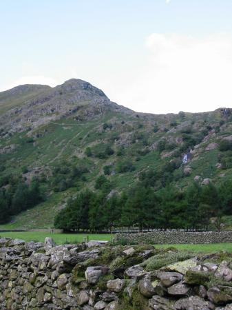 Base Brown and Sourmilk Gill from Seathwaite, Borrowdale