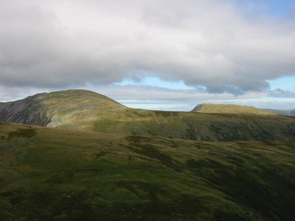 Dale Head and High Spy from the north ridge of Base Brown