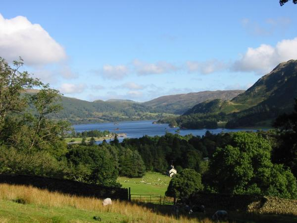 Ullswater from the lower slopes of Birks