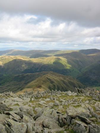 Looking down on Hartsop Above How from Hart Crag