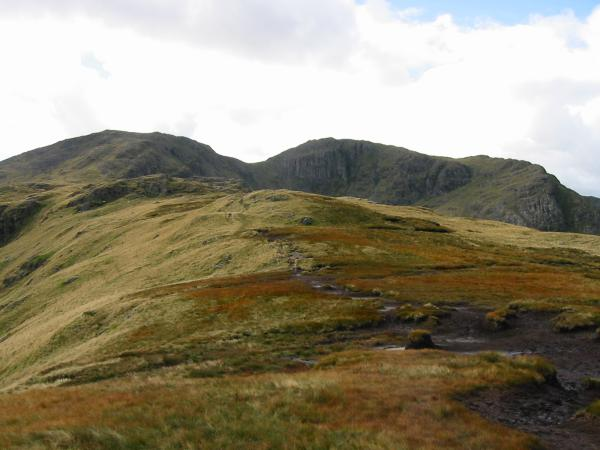 Looking back towards Hart Crag from Hartsop Above How