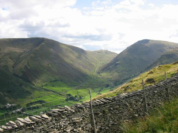 Kirkstone Pass from the lower part of the Hartsop Above How ridge