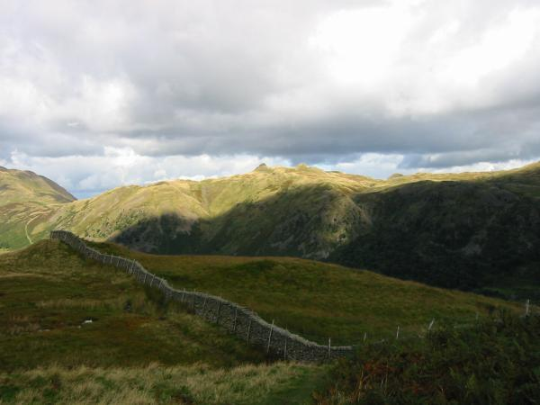 Angletarn Pikes from the lower part of the Hartsop Above How ridge