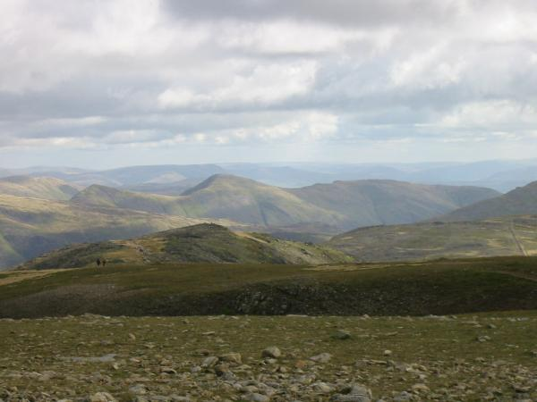 Froswick and Ill Bell from Fairfield summit