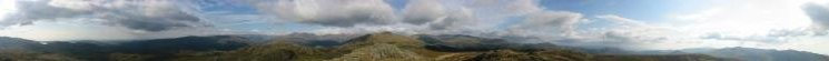 360 Panorama from Green Crag summit