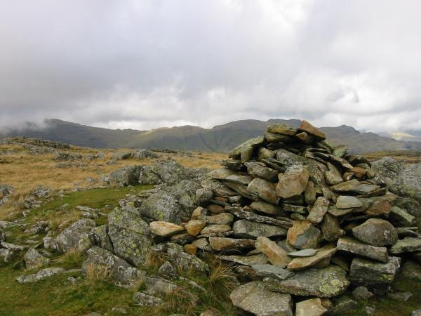 Glaramara from Thunacar Knott