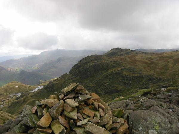 Pavey Ark and Harrision Stickle from Sergeant Man