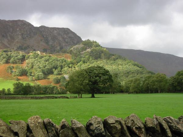 Castle Crag from Rosthwaite