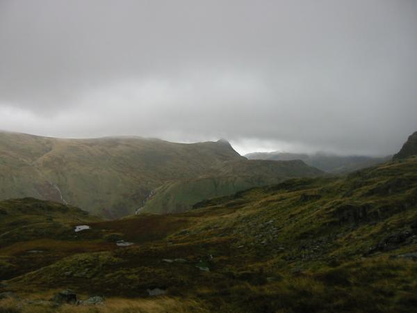 Pike O' Stickle from Rosthwaite Fell
