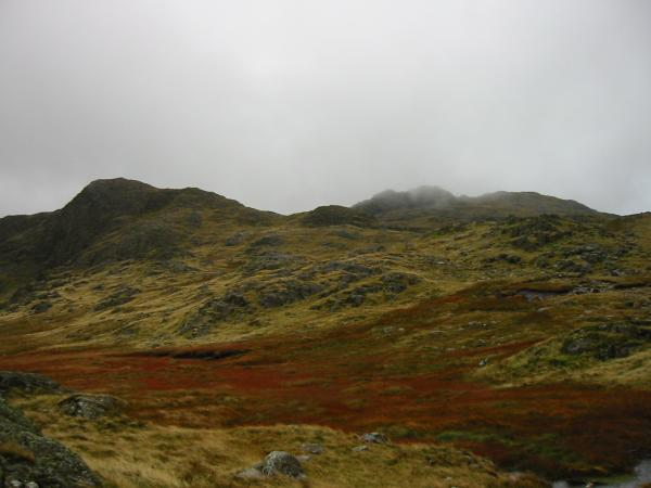 Glaramara from Thornythwaite Fell