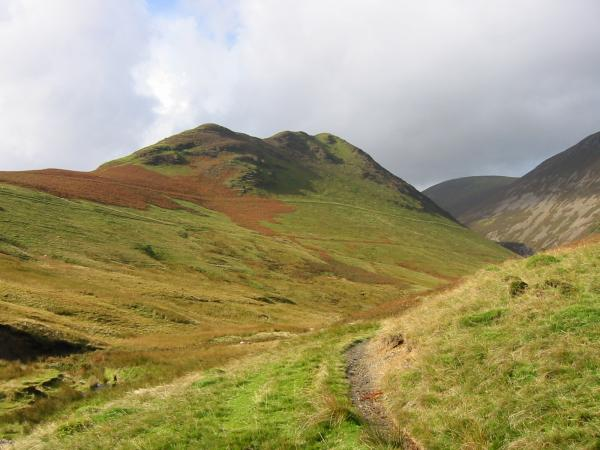 Ard Crags ridge from Rigg Beck