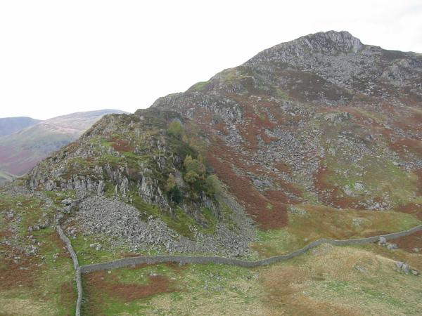 Heron Pike, Sheffield Pike's east ridge from Glenridding Dodd