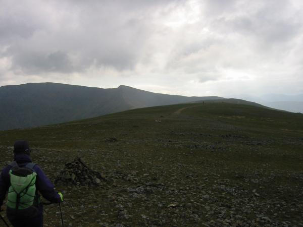 Helvellyn, Lower Man and White Side from Raise