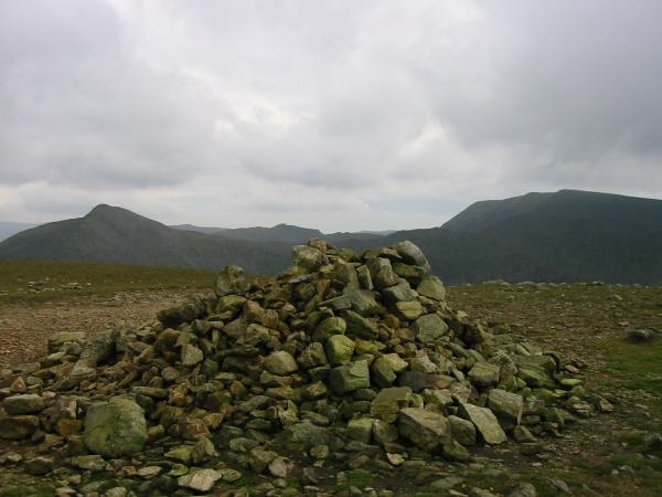 Catstycam and Helvellyn from White Side summit