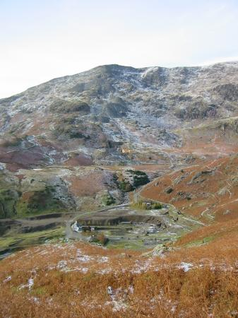 Coniston Old Man from Coppermines valley