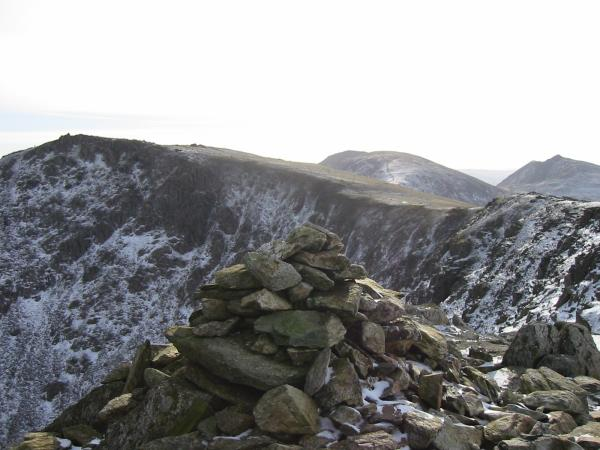 Swirl How from Great Carrs summit