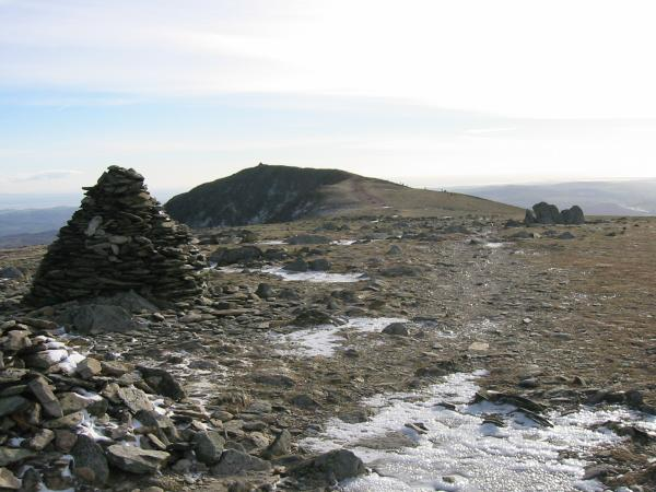 Coniston Old Man from Brim Fell summit