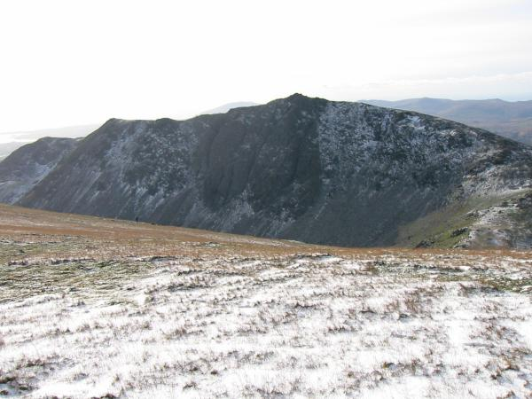 Dow Crag from the ridge between Brim Fell and Coniston Old Man