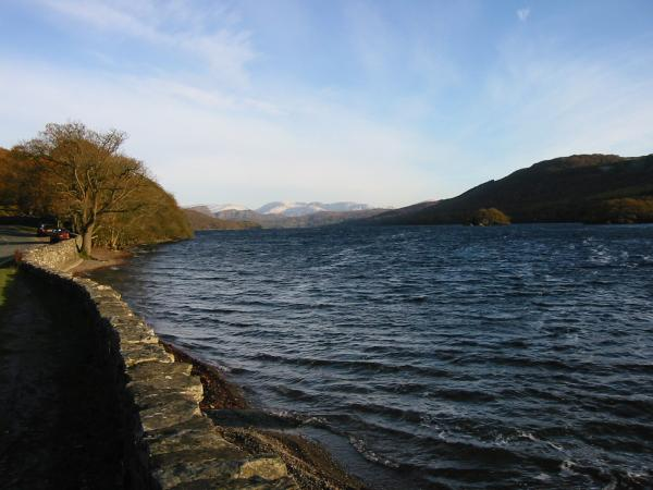 Coniston Water, looking north