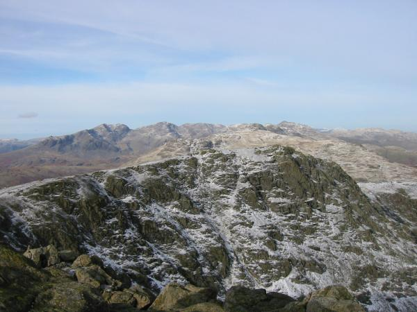 Great Carrs from Swirl How summit