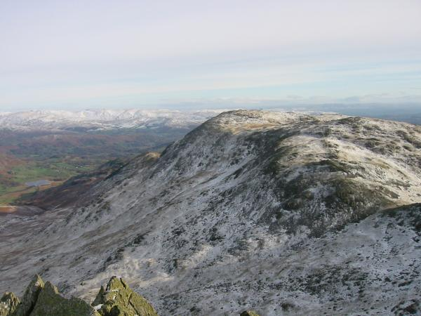 Wetherlam from Great Carrs summit