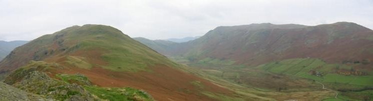 Boredale from the north ridge of Beda Fell