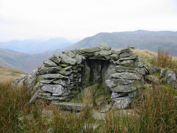 Shelter on Beda Fell