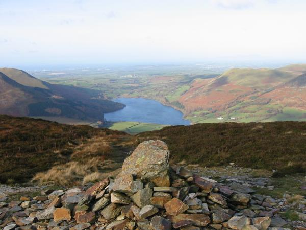 Loweswater from Mellbreak's northern (and lower) top