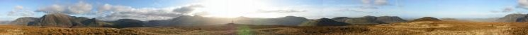 360 Panorama from Mellbreak's southern summit