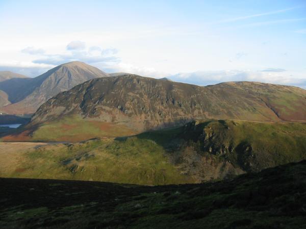 Mellbreak from Gavel Fell's northern ridge