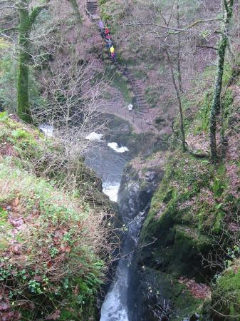 Aira Force looking down