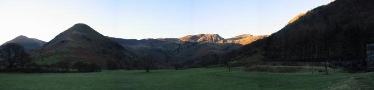 Dovedale from near Hartsop Hall
