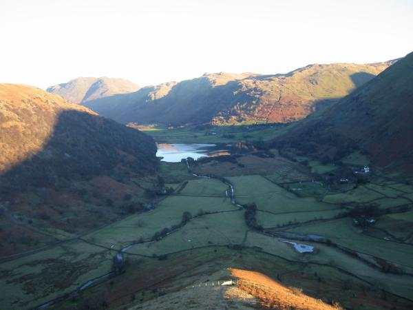 Brothers Water from the north ridge of High Hartsop Dodd