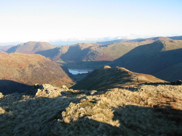 High Hartsop Dodd from Little Hart Crag's north eastern and lower top