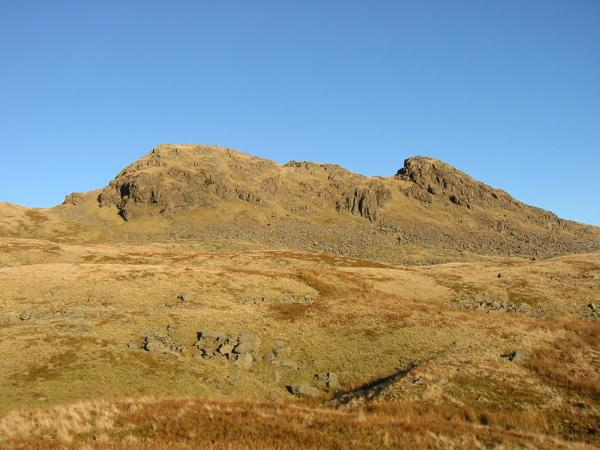 Little Hart Crag's summit from the south