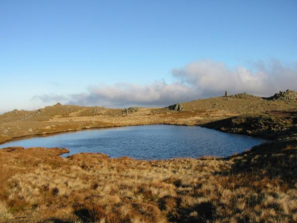 Red Screes summit
