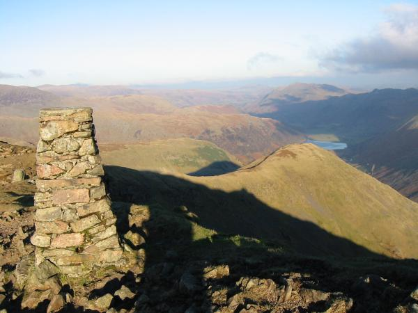 Middle Dodd from Red Screes summit