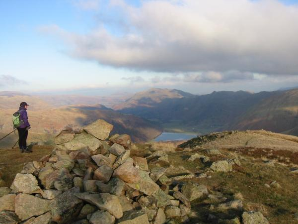Brothers Water from Middle Dodd summit