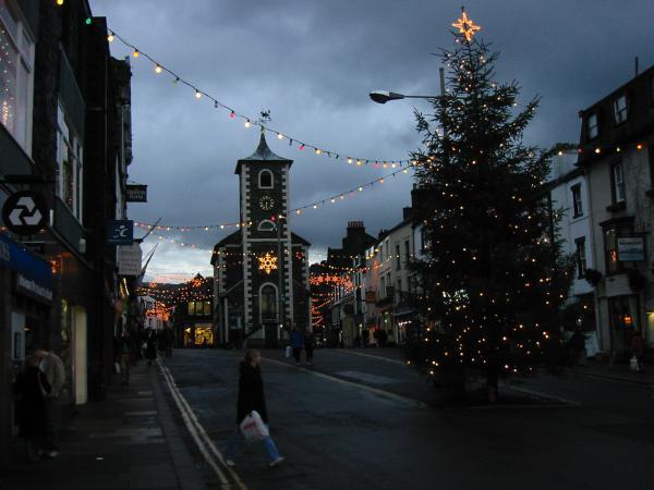 Moot Hall and Market Place, Keswick