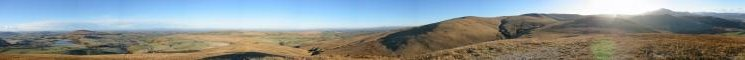 360 Panorama from Longlands Fell summit