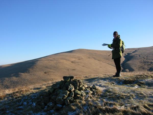 Brae Fell from Longlands Fell summit