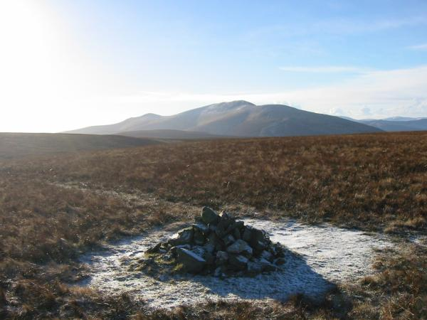 Skiddaw from Great Sca Fell summit
