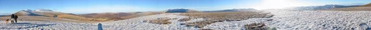 360 Panorama from Lonscale Fell summit