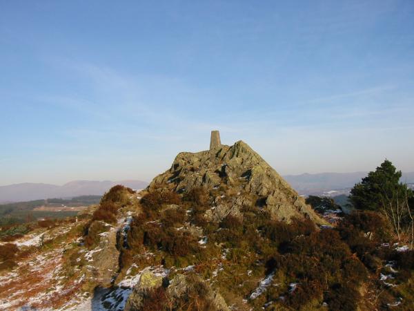 Carron Crag summit