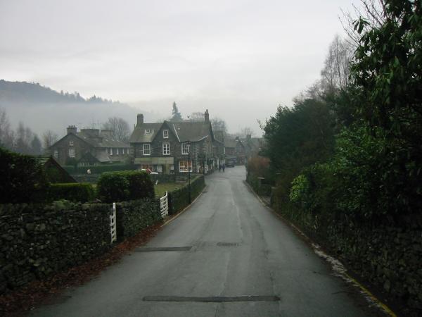 Easedale Road back into Grasmere village