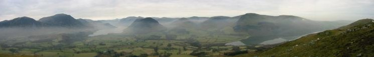 Panorama from Low Fell