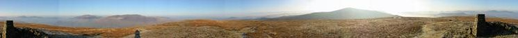 360 Panorama from Clough Head's summit
